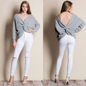 Twist Reversible Sweater